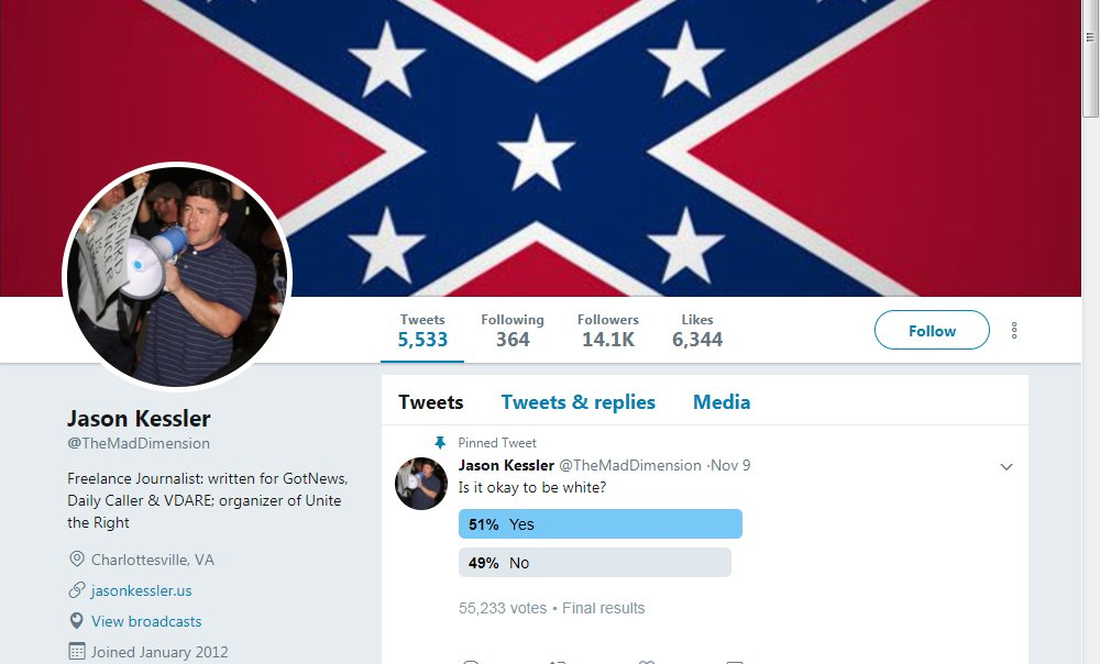Twitter removes verification badge for white nationalists Jason Kessler and Richard Spencer, says it will no longer verify accounts which promote hate or incite harassment