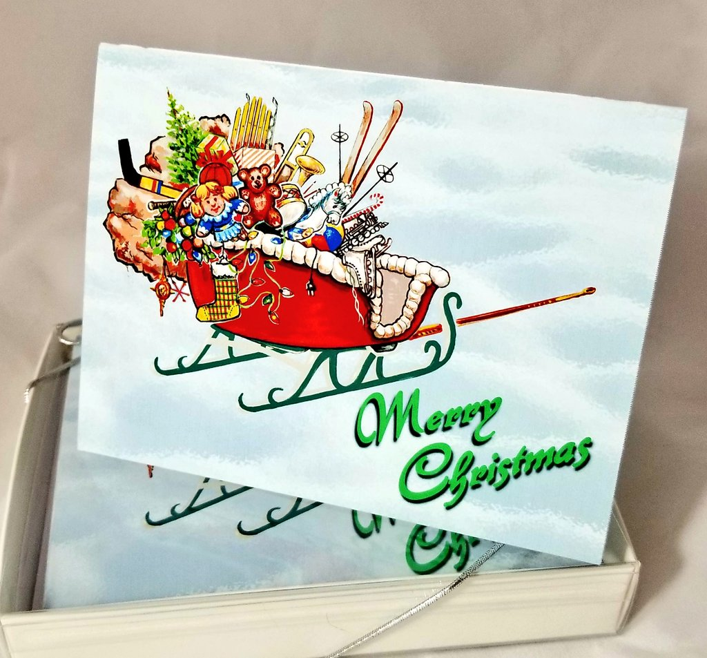 Now available in our @Etsy shop! #MerryChristmas note #Cards. Great to hand out with #gifts! #handmade #EtsyShop #retweet #drawing #art #illustration #etsyseller  http:// etsy.me/2yKYPec  &nbsp;  <br>http://pic.twitter.com/ImGv5OHaFx