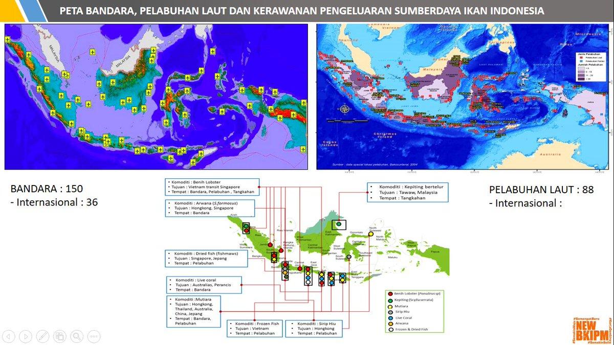 Bkipm On Twitter Peta Bandara Pelabuhan Laut Dan Kerawanan Pengeluaran Sumber Daya Ikan Indonesia Onehealthkipm Https T Co Xtrunpeird