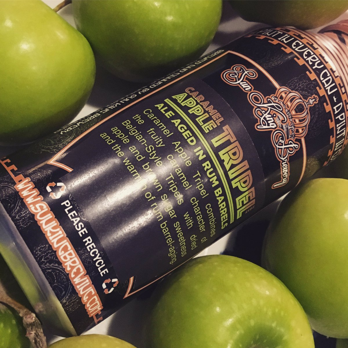 Tomorrow, tomorrow, your only a day a....way! Release time 10am Downtown Indy | 11am Fishers Tap Room for #caramelappletripel Only available in cans at #SKB locations. #barrelagedbeer #barrelaged<br>http://pic.twitter.com/QMUV5TzX4d