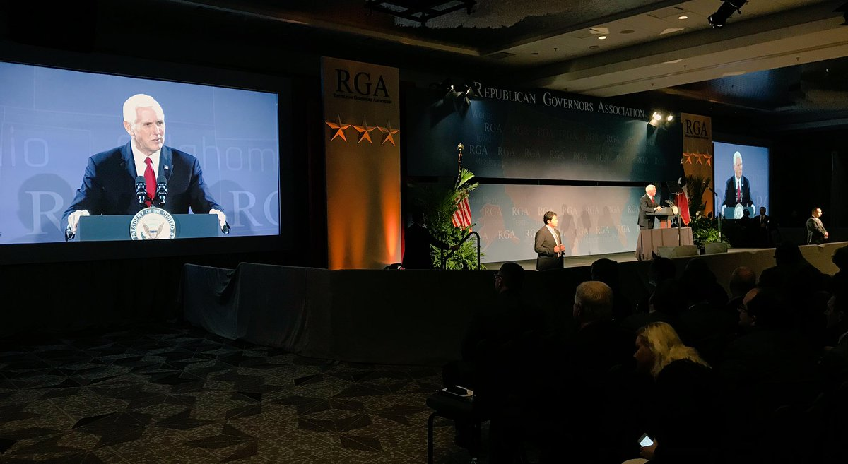 Today at @The_RGA I told my fellow Republicans that before the end of this year, under @realdonaldtrump, we're going to CUT TAXES ACROSS THE BOARD for working families and businesses large and small. #RGA2017