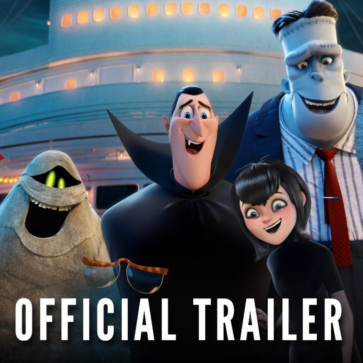 Kick back with the Drac pack in the all-new #HotelT3 teaser trailer now and don't miss them in theaters next summer! 🧛🚢