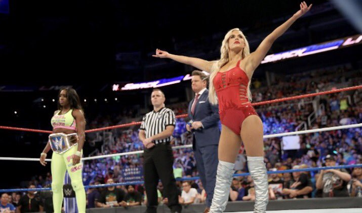Well behaved women seldom make history ! It&#39;s an honor to take risks &amp; break rules with @NaomiWWE one of the best athletes in @WWE ! Thank you for watching #TotalDivas <br>http://pic.twitter.com/gP0bW0yBqV