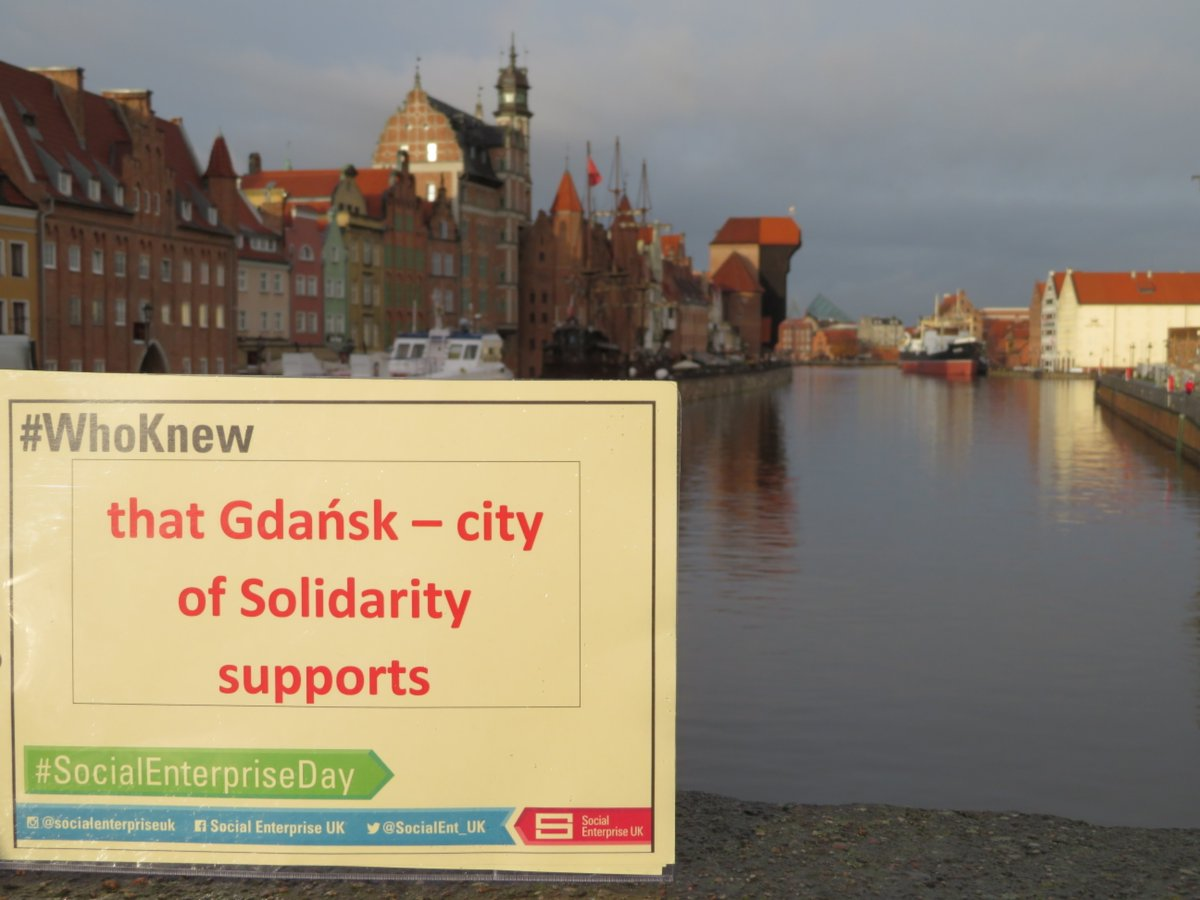 Together with @SocEnt_DK we support #socialenterpriseday and #WhoKnew campaign.more news on #socialentrepreneurship in @Gdansk &amp; #Poland coming soon!<br>http://pic.twitter.com/xxt0xfG3G6