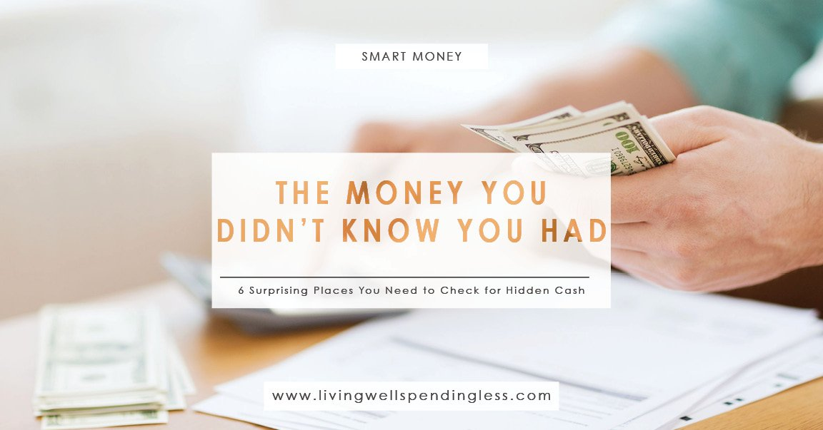 Need some extra cash? Here are 6 ways to find hidden cash you didn&#39;t know about! #ExtraCash #SmartMoney   http:// bit.ly/findinghiddenc ash &nbsp; … <br>http://pic.twitter.com/SzRp8ypfpw