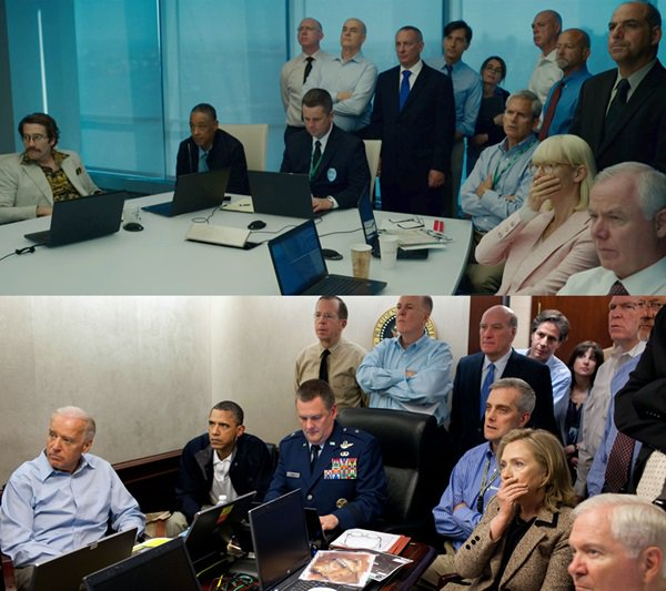 ok i&#39;m finally watching #Okja and this visual reference to the obama situation room photo is Fing brilliant. <br>http://pic.twitter.com/whIoxw9md2