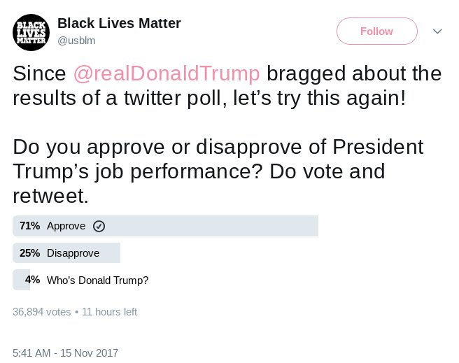 The #BLM didn&#39;t like what they were getting!!  I&#39;m glad I took a pic!! In #America #AllLivesMatter #VoteTRump  #MAGA #Trump #TrumpTrain  #LatinosForTrump #MAGACoalition #FollowTheWhiteRabbit #GodBlessPresidentTrump #welovetrump #WeLovePotus #welovetrump #PresidentTrump<br>http://pic.twitter.com/ePFZPTvFAu