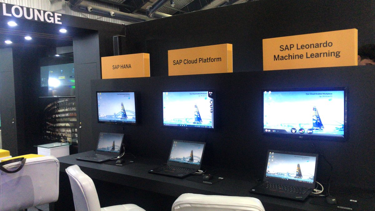 And we are Ready #SAPatGHCI #GHCI17 Come and speak to us! Learn and know more about the great work we are doing in the space of #SAPHANA #SAPCloudPlatform #SAPLeonardo #MachineLearning  @saplabsindia @TejaswiniChalam @YatinSAPCareers @ManimoyBiswas @Suvarna_Kartha  @simonavinash<br>http://pic.twitter.com/YfgyRmMavb