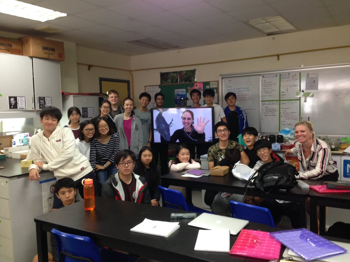 @VanessaPirotta thanks so much from us at #AISGZ! Our students and teachers appreciate you sharing your knowledge and passion #skypeascientist #sciencechat<br>http://pic.twitter.com/zUaV02Pitt
