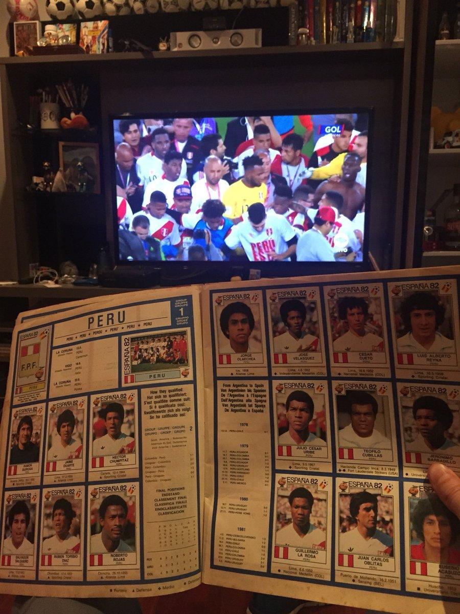 Mientras esta será la primera vez que #Panini, la editorial Italiana, imprima un álbum sin #Italia. #Perú aparecerá luego de 36 años, desde España 1982.     #PeruAlMundial #VivaelPerú #ArribaPeru