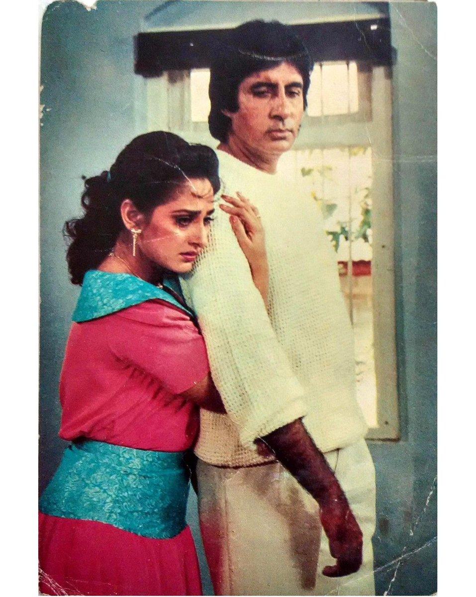"""Vintage Bollywood on Twitter: """"#AmitabhBachchan #Jayapradha  #BollywoodFlashback #postcard #whichmuvyz #guessthemovie #muvyz111617… """""""