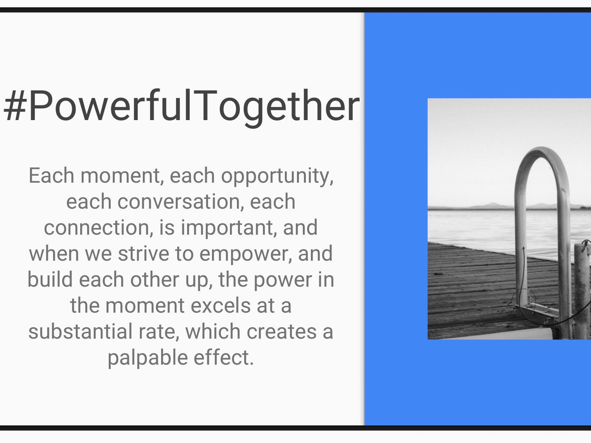 #Resilience #PowerfulTogether Want to double, triple, quadruple your team&#39;s output? Teach them to #work #together, to #share #information, to #empower each other! The more each of your #team members knows, the more your team knows! #FSUSDPowerUp #FSUSDSPAW #ACSAPowerfulTogether<br>http://pic.twitter.com/IxjI6niGNy