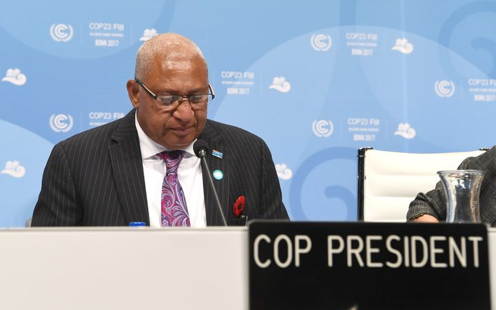 #INBAR at #COP23  #Fiji&#39;s Minister for #Women urged more #island states in the #Pacific to join INBAR &amp; explore benefits of #bamboo  https:// goo.gl/ynedxR  &nbsp;   @FijiSUNews @FijiPM @UNFCCC @UNFCCCwebcast @COP23 @UNDPClimate @IFADnews @hansfriederich<br>http://pic.twitter.com/AyL268xOFu