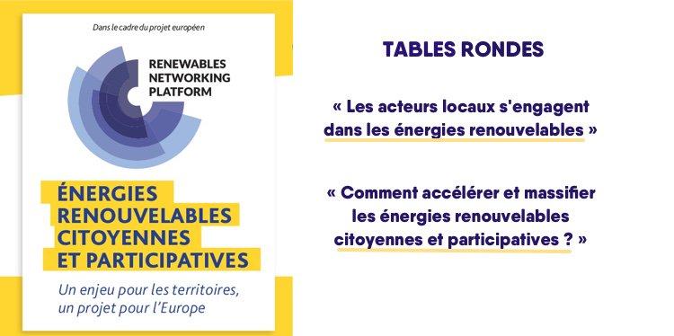 [AGENDA] Énergies renouvelables citoyennes et participatives : un enjeu pour les territoires, un projet pour l'Europe ! Venez en débattre lors d'un colloque le 7/12 à la Maison de la Chimie #EnergieCitoyenne #EnR @energycities @assoCLER  https:// cler.org/rendez-vous/ev enements/colloque-energies-renouvelables-citoyennes-et-participatives/  … pic.twitter.com/nb5R01Axl6