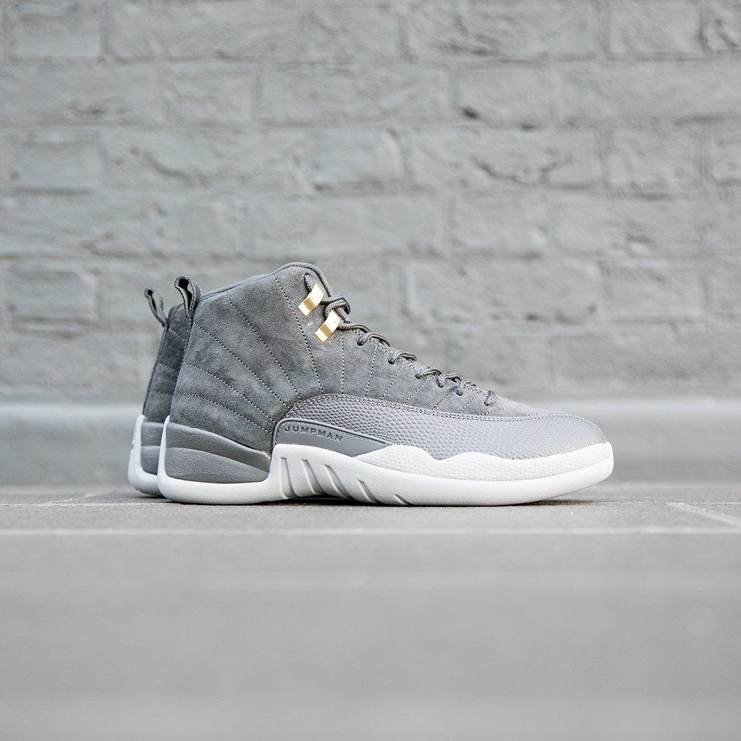 d6dbc1d80d1 Nike Air Jordan 12 Retro 'Dark Grey'. Launching online on Saturday 18th  November. Sizes range from UK6 - UK12, priced at £165.