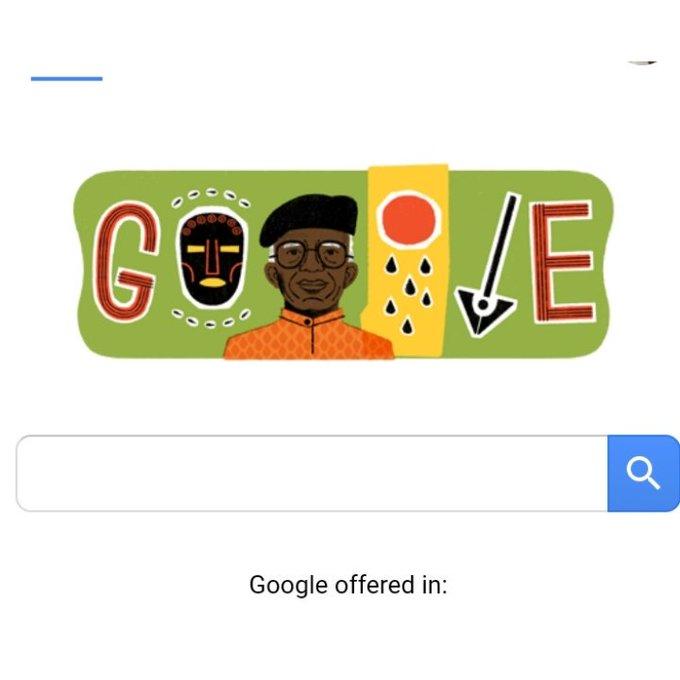 Happy 87th birthday sir Chinua Achebe.   Thanks