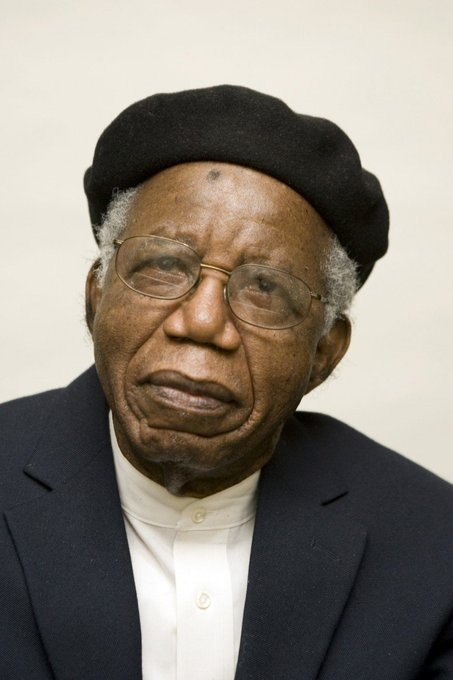 """Happy Birthday Chinua Achebe What was your favourite Achebe book? Mine was \""""The Trouble with Nigeria\"""""""