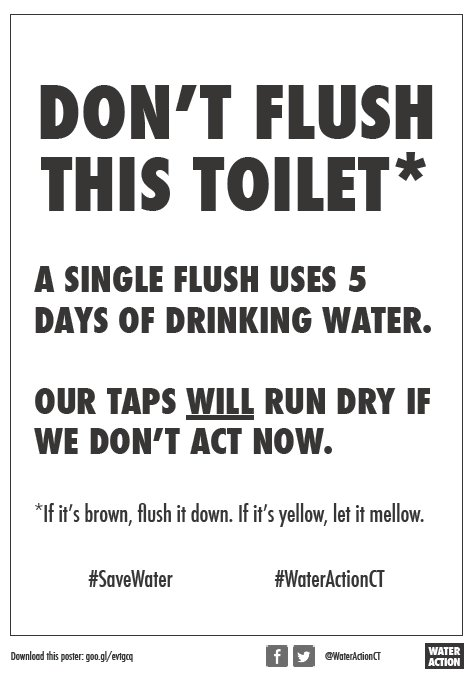 These guerrilla watersaving posters are going up in public toilets all over cape town download print here http goo gl evtgcq savewater capetown