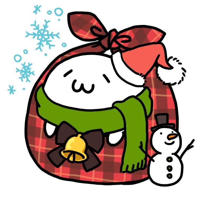 最近こればっかだな!ハロウィンに続いて期間限定クリスマス仕様ふろしきあざらしさんフリーアイコンです よければどうぞ 加工や再配布はしないでね #あざらしさん