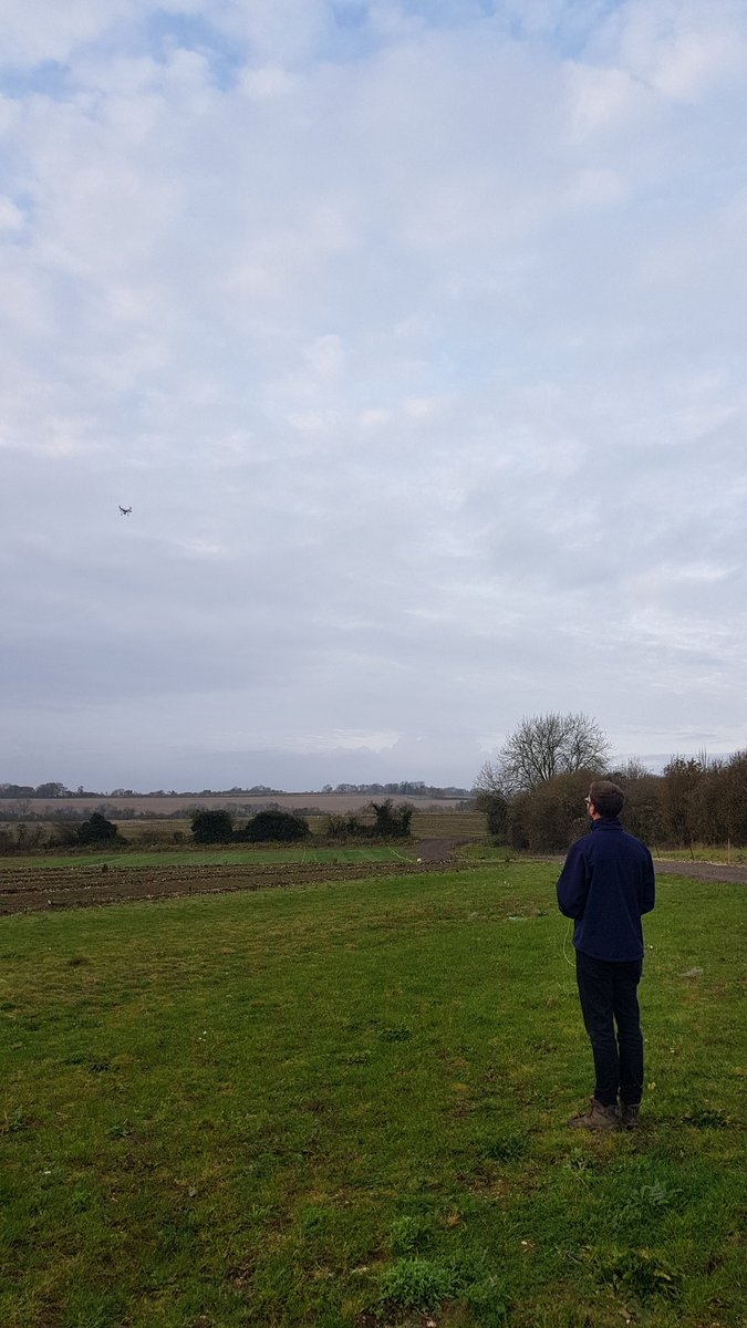 Great day surveying with @striturf_tomy using our RGB and #NDVI enabled #drones yesterday. Now we&#39;re heading to @totalunmanned @ExCeLLondon to learn more to improve our @striturf drone service to you guys!<br>http://pic.twitter.com/hQos5H52PE