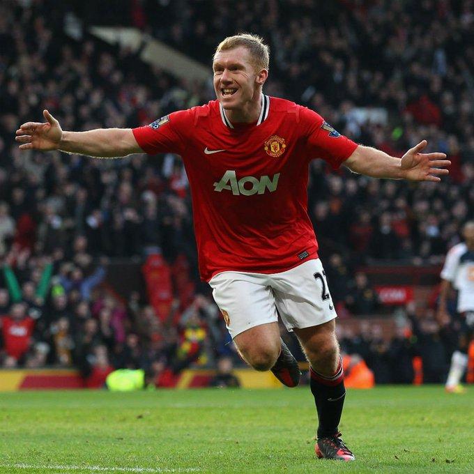 Happy birthday to Paul Scholes The best English midfielder of his generation?