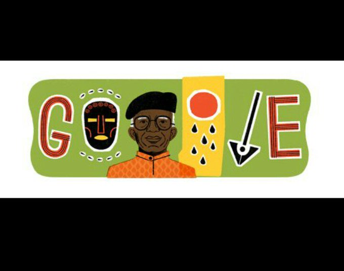 Google celebrates Chinua Achebe.. A true legend!! Happy birthday, rest on!