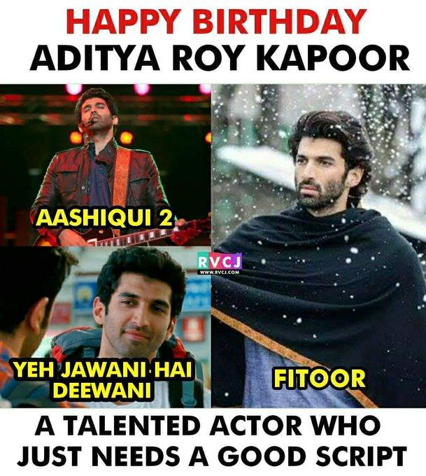 Happy Birthday Aditya Roy Kapoor