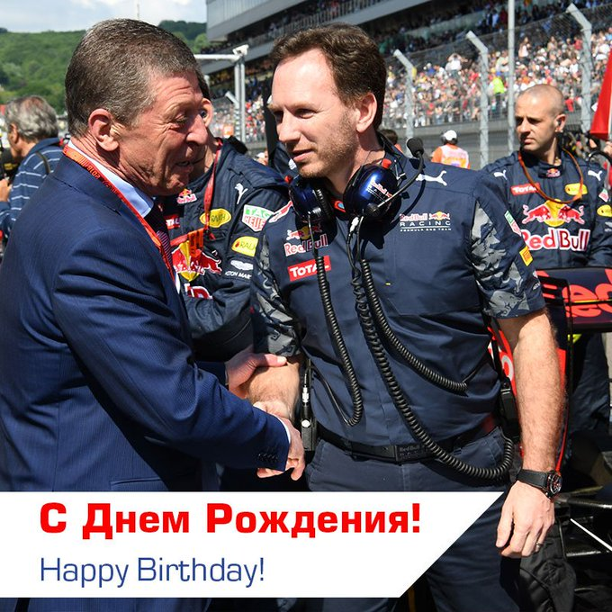 Happy Birthday Christian Horner!