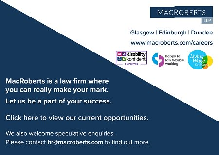 Looking to further your #career in #commercial #realestate #law? We have a #vacancy for a #solicitor to join our team in #Edinburgh - find out more &amp; apply  http:// ow.ly/r5g230gBa7E  &nbsp;   #DisabilityConfident #LivingWage #flexibleworking<br>http://pic.twitter.com/rlZAEYwW2U
