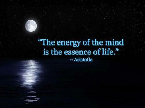 The energy of the mind is the essence of life. #Mindfulness #Presence <br>http://pic.twitter.com/P1vjPGc2mN