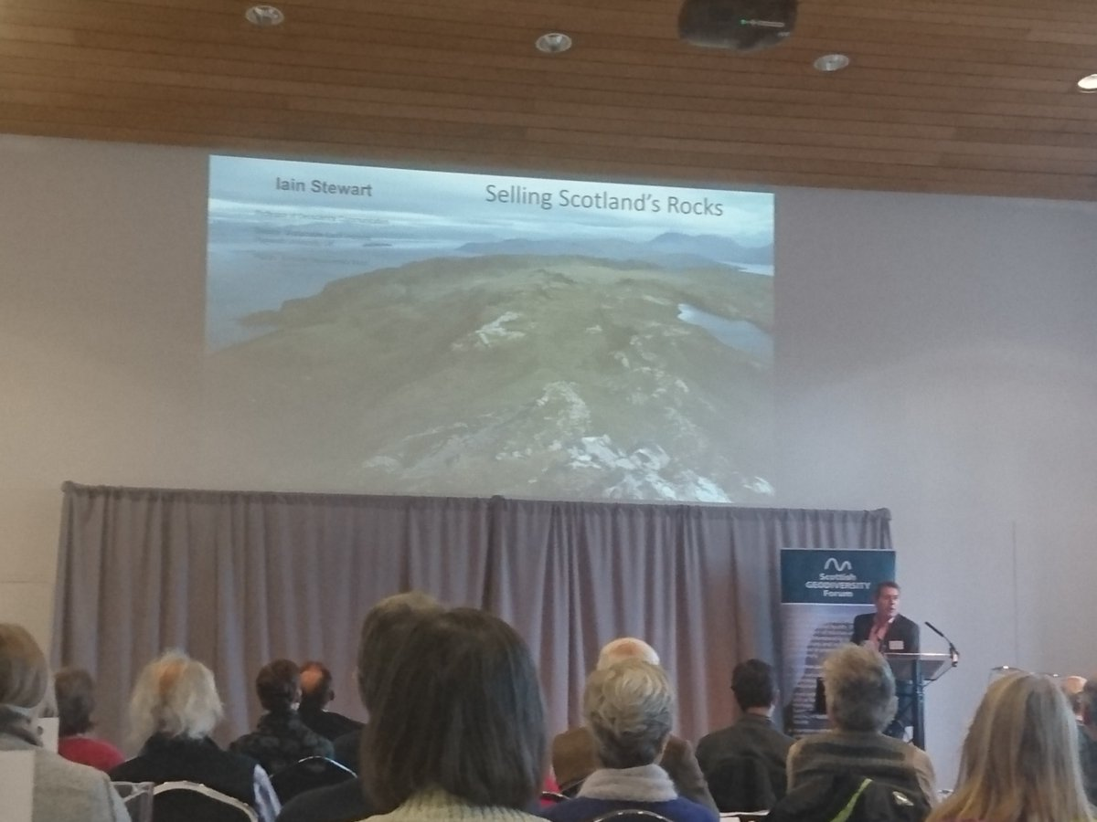 A great key note speech by @profiainstewart about #publicengagement in #geology @scotgeodforum<br>http://pic.twitter.com/ntTxMEndXW