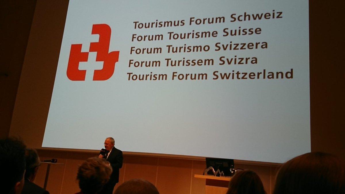 Tourismus Forum Schweiz mit @_BR_JSA #tourism #digitalisierung @ZentrumPaulKlee