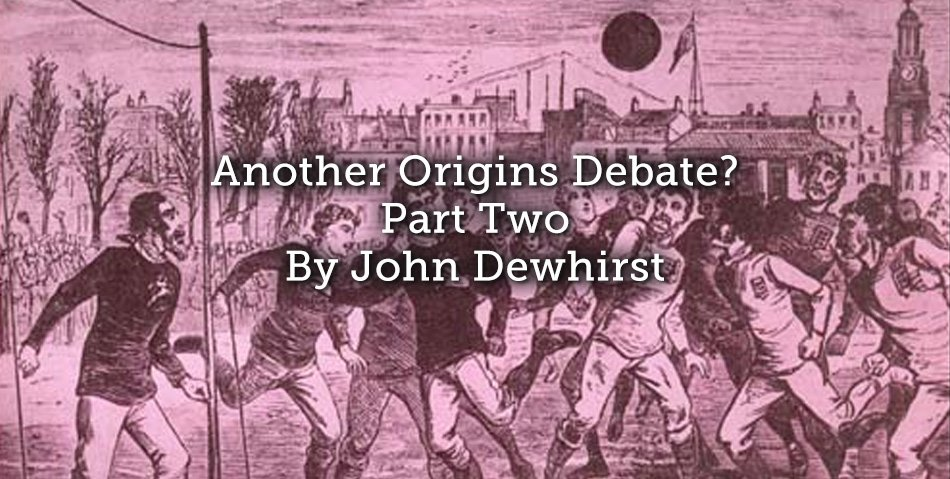 New today on @Playing_Pasts  Part 2 of  &#39;Another Origins Debate?&#39; by @jpdewhirst  Who takes a look at origins of #Football as a business See -  https:// goo.gl/DVucMx  &nbsp;   #Football #SportHistory #Myth  #Origins<br>http://pic.twitter.com/uRg4EcB9cL
