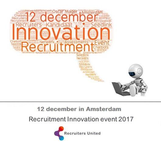 test Twitter Media - Kom op dinsdag 12 december naar het Recruitment Innovation Event in Amsterdam en kom alles te weten over belangrijke ontwikkelingen en nieuwe typen assessments. Het event is gratis voor RU-leden #RIE17 Aanmelden kan via https://t.co/ezAfZeWNVo https://t.co/3diuVqci5N