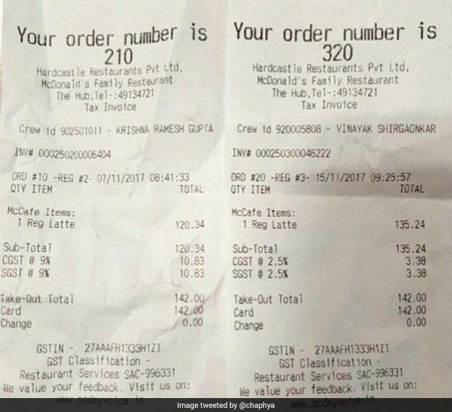 RT @ndtv: McDonald's meals not cheaper despite GST rate cut. Twitter not lovin' it https://t.co/ksD7KhWSAT https://t.co/tIMHJKSKmH