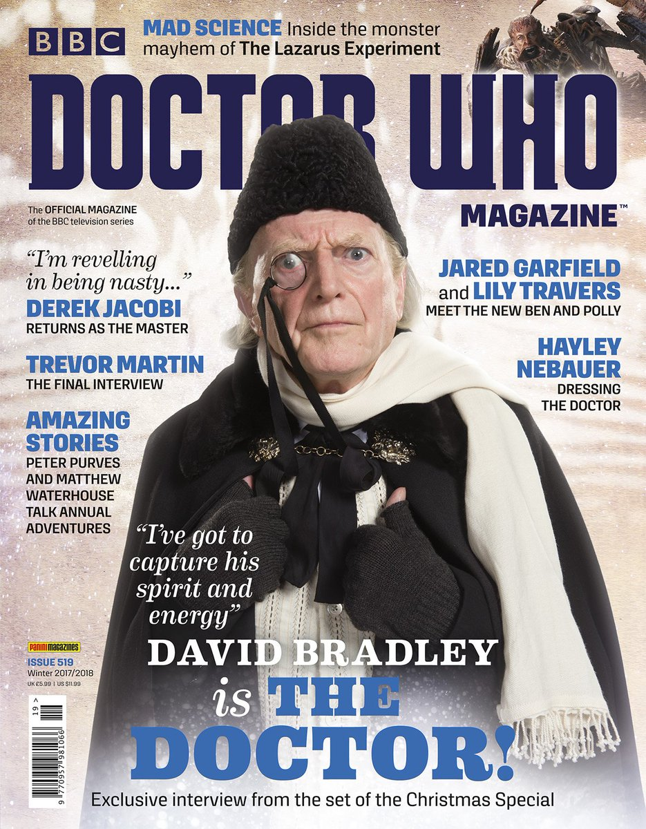 Twice Upon A Christmas Doctor Who.Doctor Who Magazine On Twitter It S New Dwm Day The