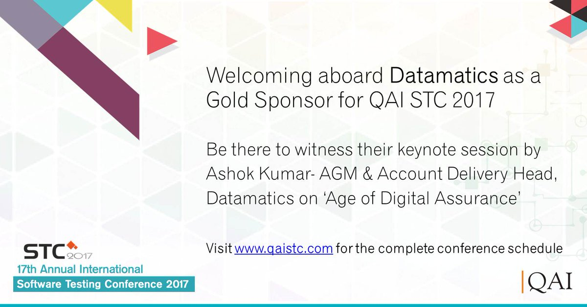stc on stc gold sponsor dgsl presenting some   some interesting topics on software testing in the digital world register today to witness their special presentation at the conference