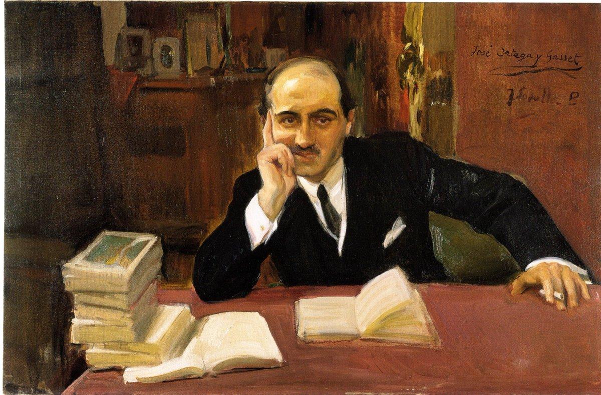 """Museo Sorolla on Twitter: """"Retrato de Ortega y Gasset ..."""