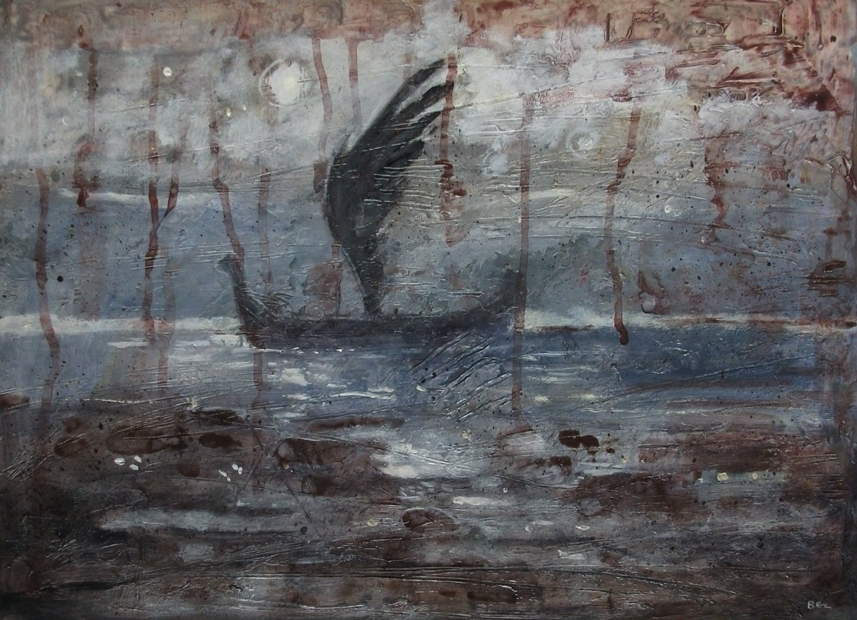 The Winged Ship.The romance of exploration #painting #FolkloreThursday #myth <br>http://pic.twitter.com/4TAhyHB4l7