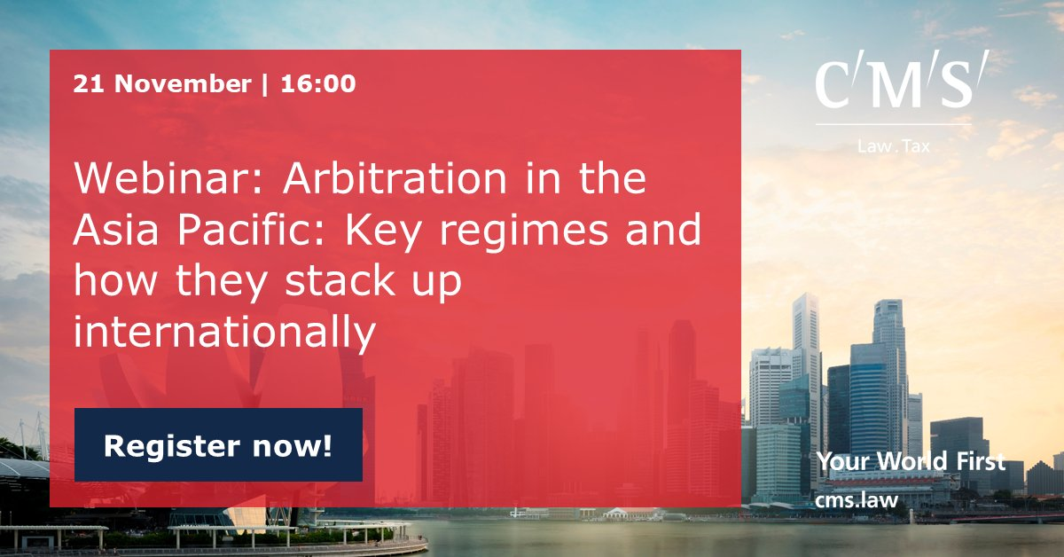 test Twitter Media - Join us as we examine the international arbitration regimes in the major APAC arbitration venues, particularly Hong Kong and Singapore - and compare them against world standards set by the European centres of Paris, London, Geneva, Zurich, or Stockholm. https://t.co/RUalGsDvk8 https://t.co/MknLQvEkRB