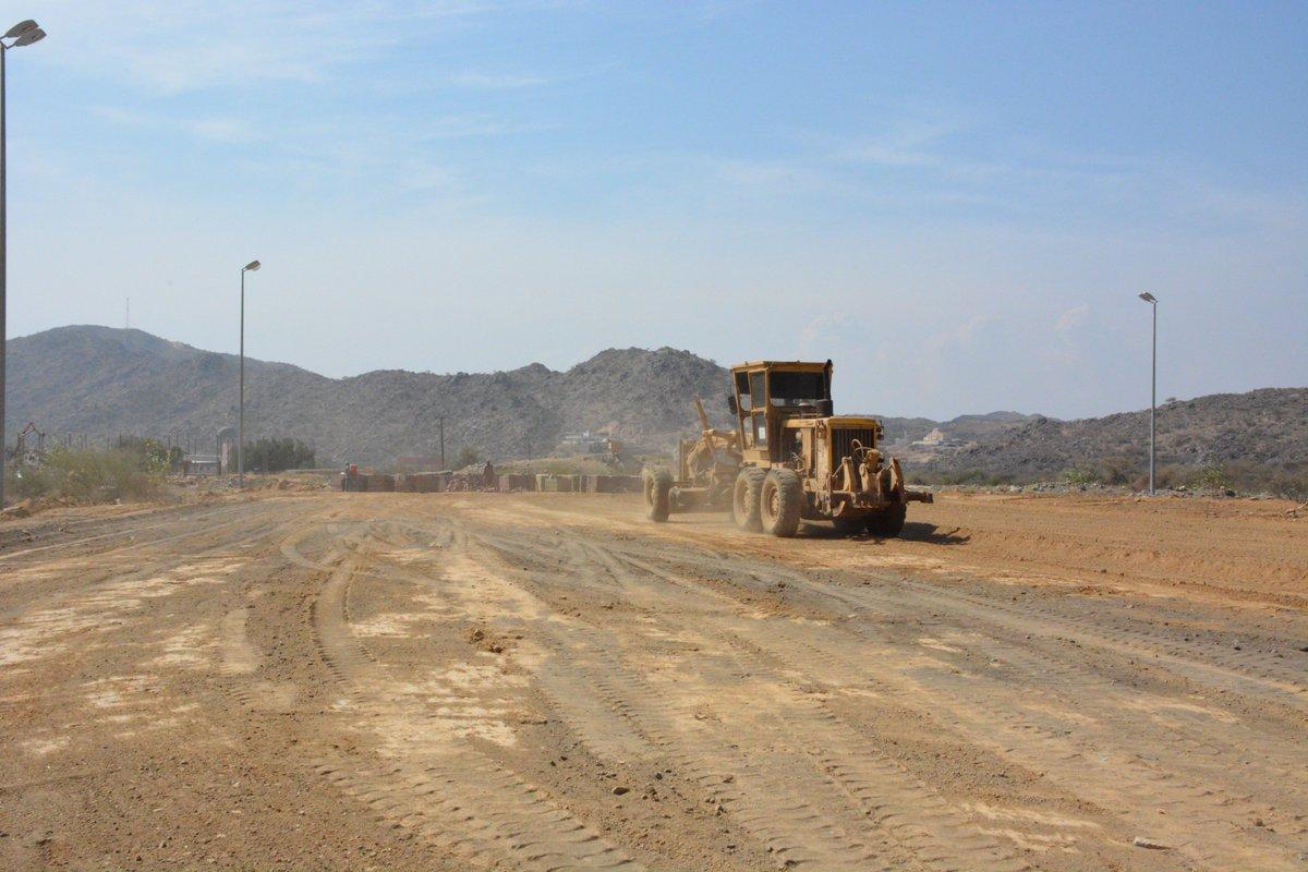#بلدية_المجاردة بدء العمل في إنشاء ملعب...