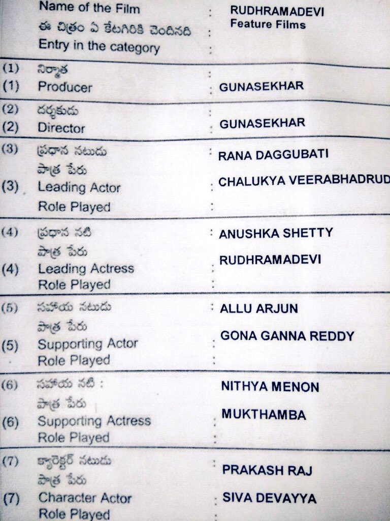 Application Form for #NandiAward as fill...