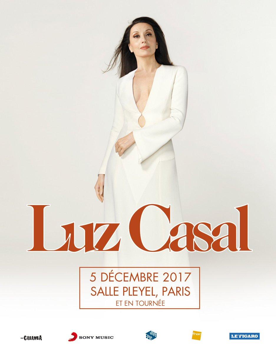 @LuzCasalOficial sera le 5 décembre sur la grande scène de la #sallepleyel  Et vous, y serez vous aussi ? Tickets et infos sur notre billetterie > https://t.co/nGtEonDFjB #paris #luzcasal #concert