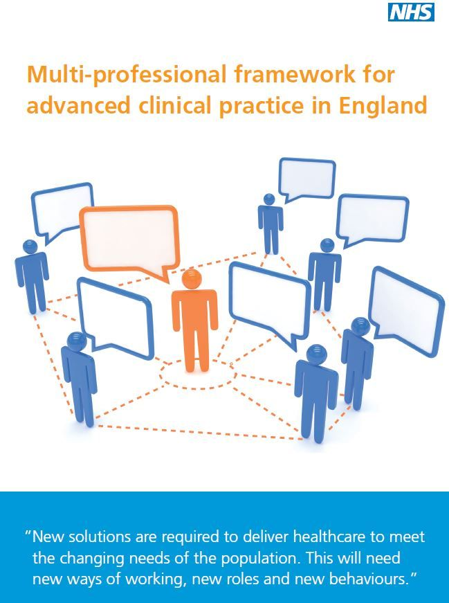 New framework sets out a vision for advanced clinical practice https://t.co/a5DhGxoXMg #ACPfit4thefuture