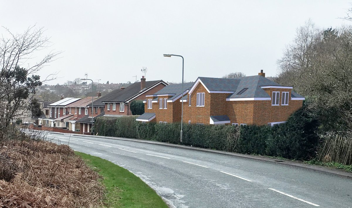 We&#39;re delighted that #Planning #Approval has been granted for 2 new houses in #Hednesford, #CannockChase.   Good to work on a challenging site on the edge of the #Greenbelt with @DLPPlanning @RammSanderson @BSPConsLtd<br>http://pic.twitter.com/ERW1WkpgxU