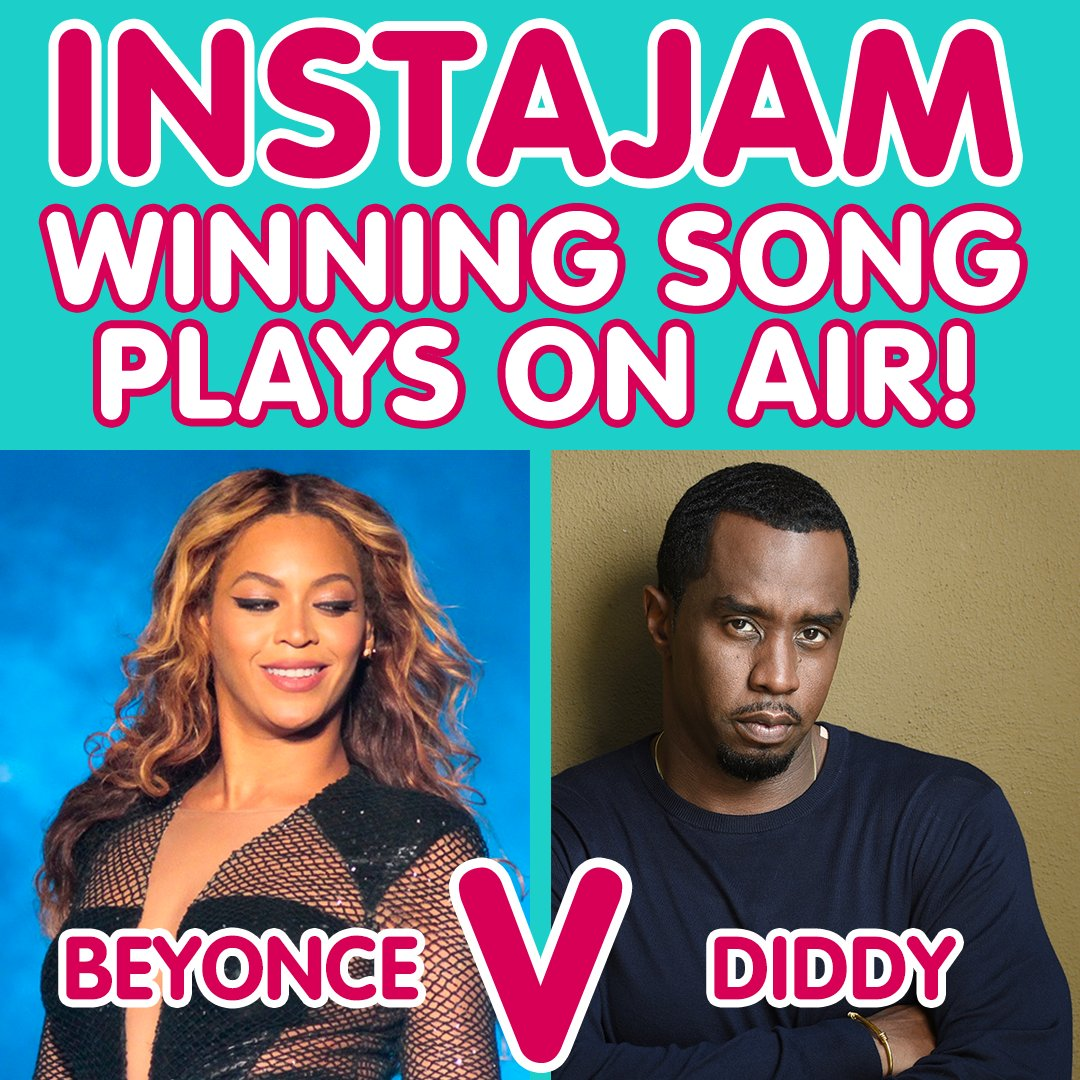 IT&#39;S TIME FOR #INSTAJAM!   It&#39;s a battle of the #HighestPaidCelebs!!   @Beyonce VS @diddy   #Formation #ComingHome  VOTE on our Instagram story NOW @AshLondonLIVE!<br>http://pic.twitter.com/I0QRnuJTio