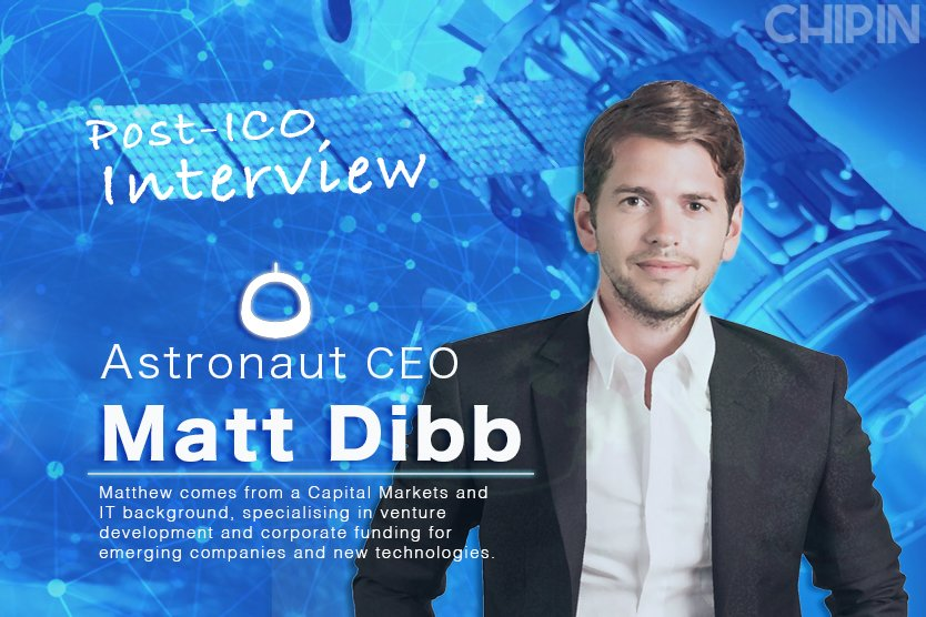 Post-ICO Interview with Astronaut Capital CEO Matt Dibb  https://www. chipin.com/post-ico-inter view-astronaut-matt-dibb/ &nbsp; …  @Astronautcap #post-ico #crypto<br>http://pic.twitter.com/xLOziUECmb