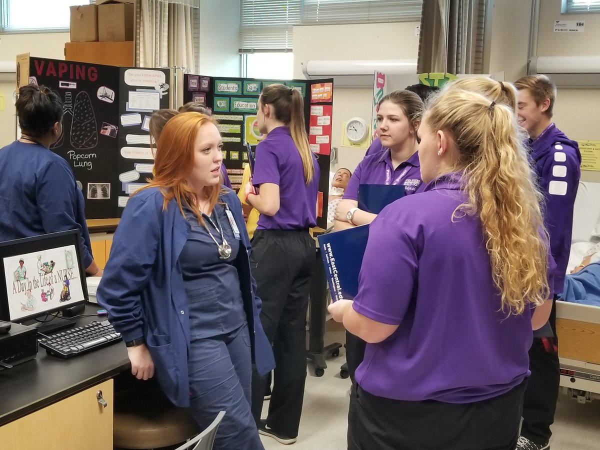 Happy to welcome @FourRiversCC to campus today to learn about our Allied Health Programs! #InspiringExcellence <br>http://pic.twitter.com/uAOgxaTFul