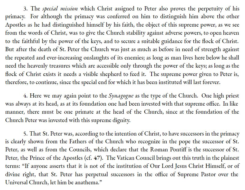 church early ecclesiology essay in peter primacy Theologians regard the doctrine of papal primacy as having developed gradually in the west due to the convergence of a number of factors, eg, the dignity of rome as the only apostolic see in the west the tradition that both peter and paul had been martyred there rome's long history as a capital of the roman empire and its continuing position as the chief center of commerce and communication.