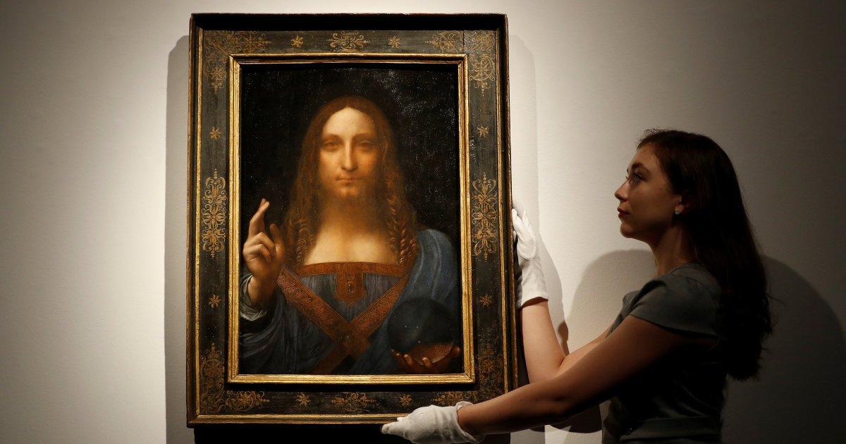 Une toile de Léonard de Vinci adjugée pour 450 millions $ https://t.co/HUK49tOdo6
